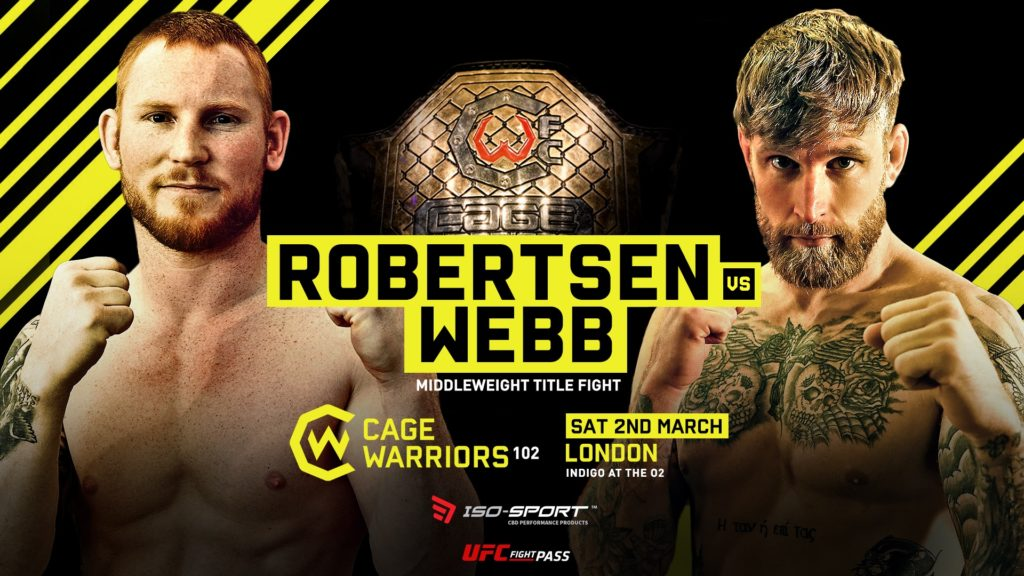 Thomas Robertsen Gets Cage Warriors Middleweight Title Shot