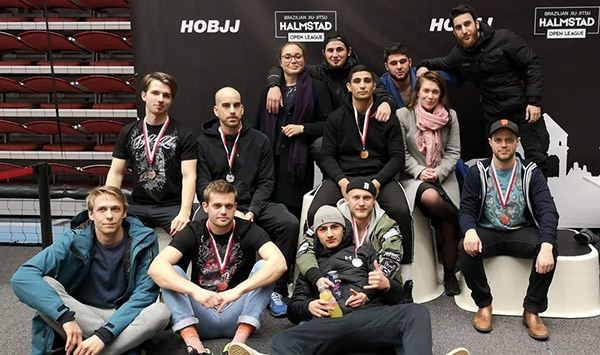 Great results for Gladius BJJ at Halmstad Open