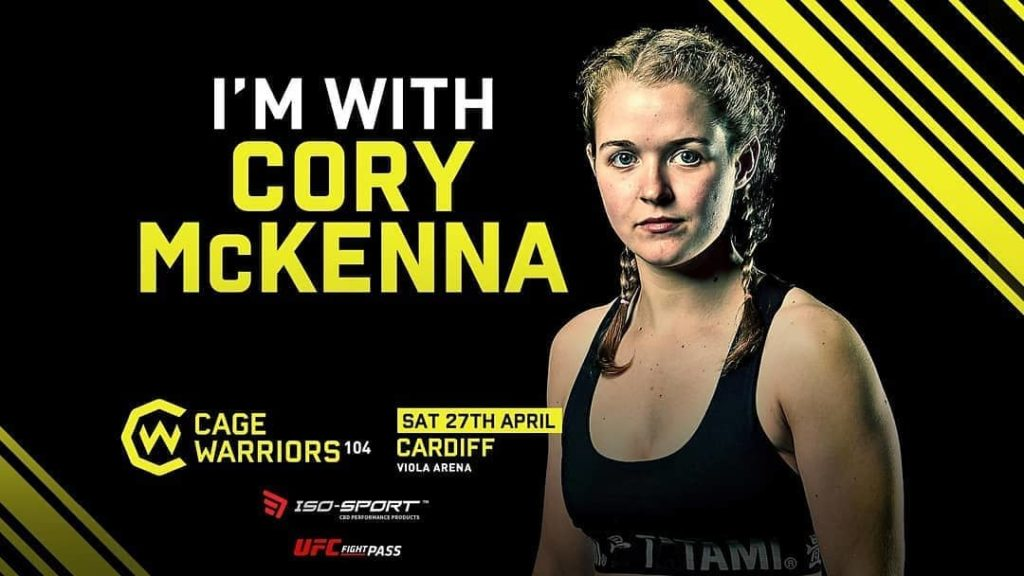 Cory McKenna takes the victory at Cage Warriors 104