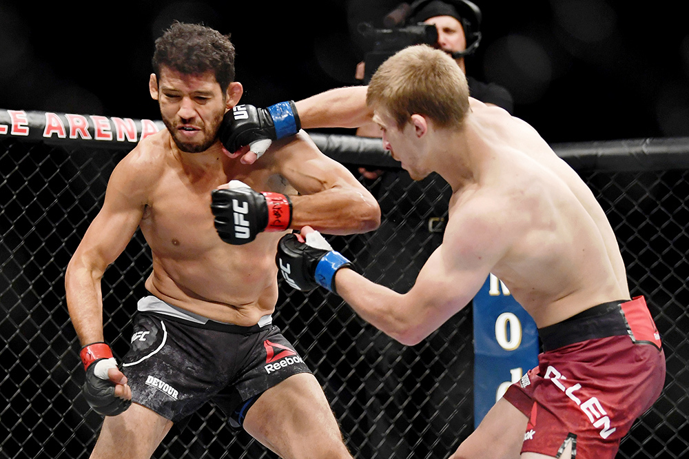 """Arnold """"Almighty"""" Allen takes the victory at UFC 239"""