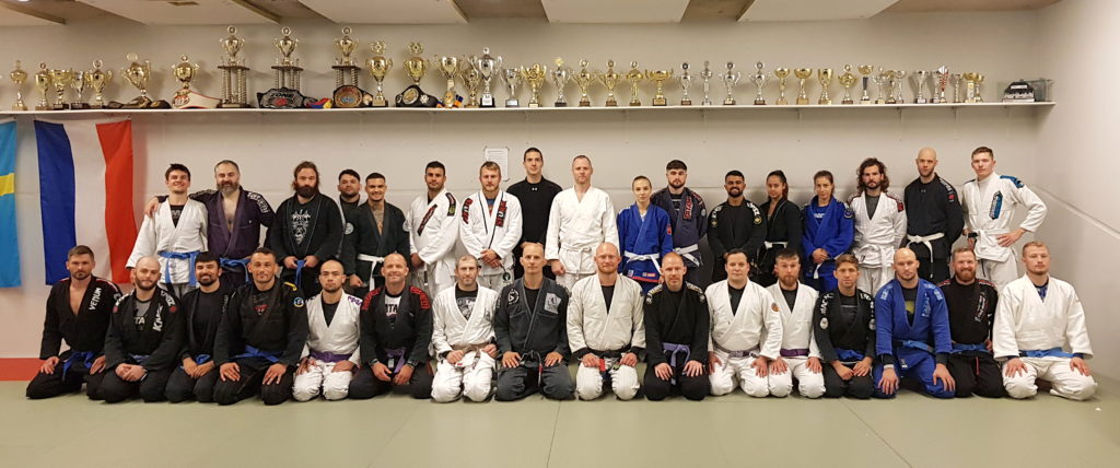 Great first day at the BJJ for beginners course!