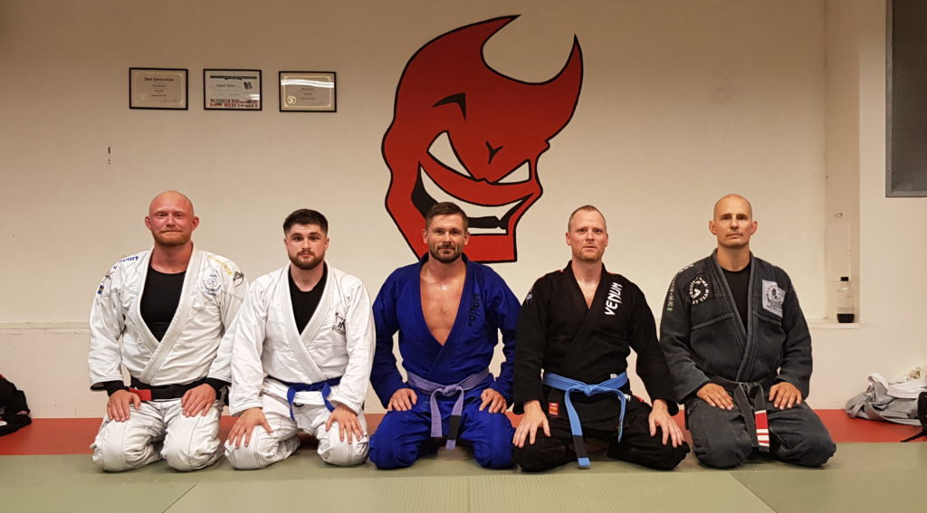 BJJ promotions at Shooters MMA HQ