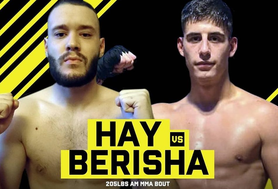 Arlind Berisha fights at Cage Warriors Academy South East 24