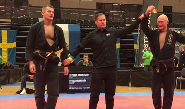 Max Hederström is the Swedish BJJ champion for the third year in a row!