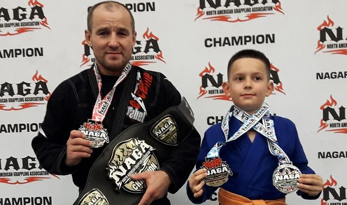 Results from NAGA Europe Grappling Championship