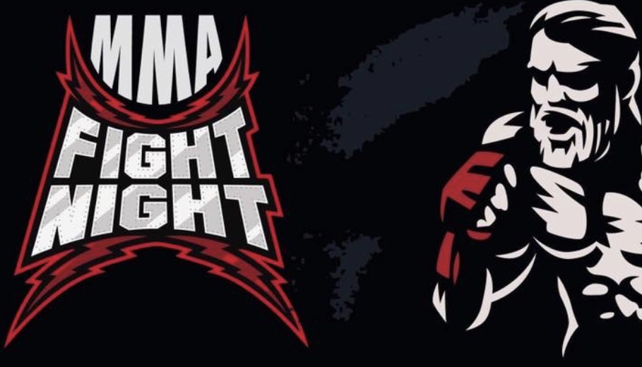 Jonas Troest fights at MMA-Fight Night