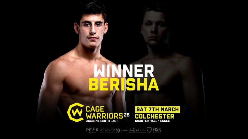 Results from Cage Warriors Academy South East: Sarpsborg Chi MMA